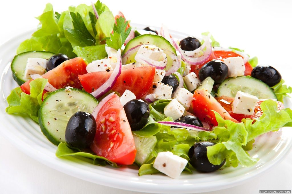 Greek-Salad-Top-View-Wallpaper